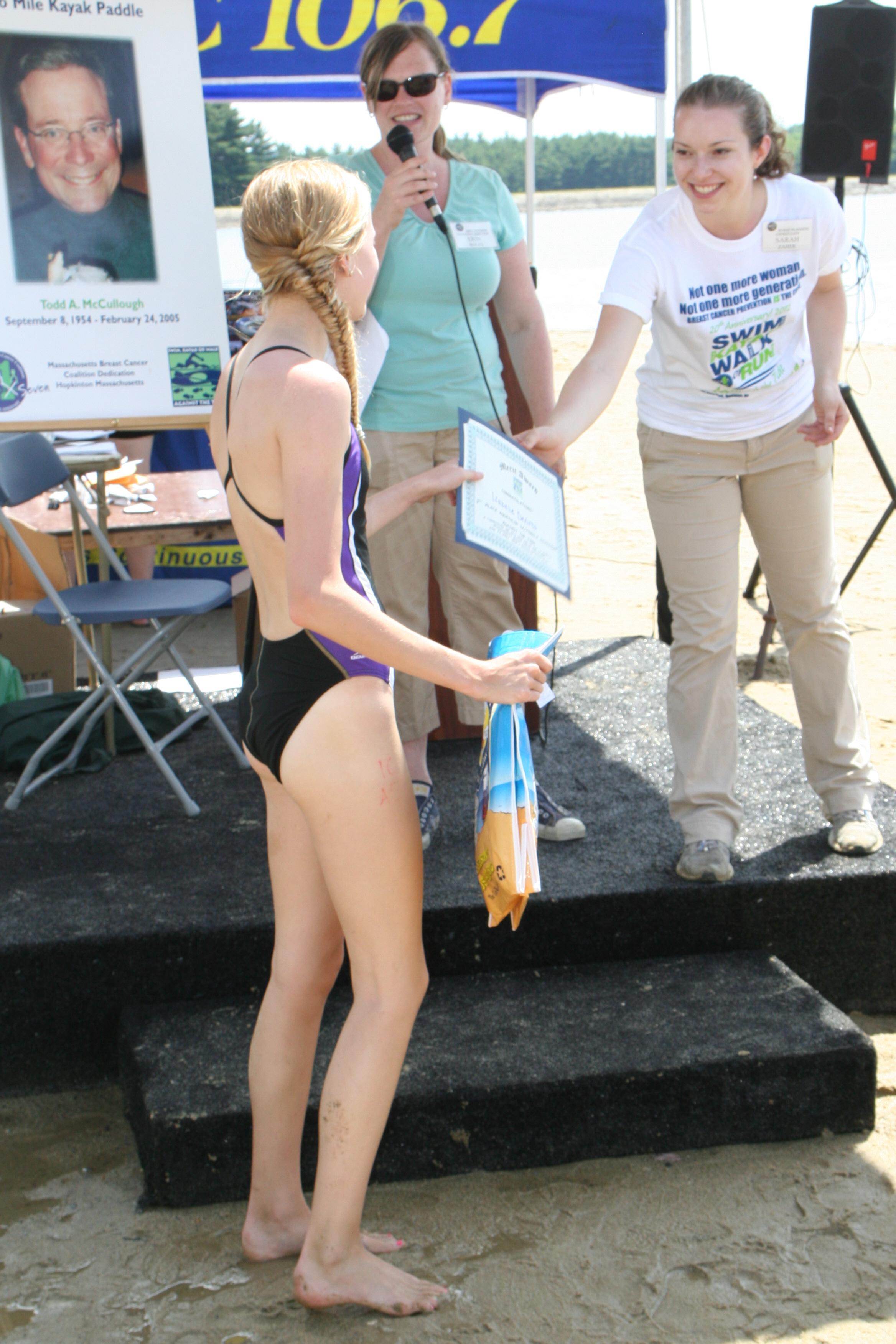 Swimmer Winner